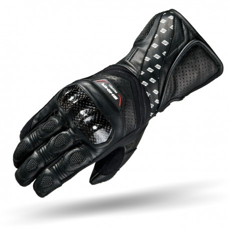 SHIMA PROSPEED - Men Black Sport Motorcycle Gloves
