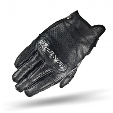 SHIMA CALIBER BLACK Motorcycle Vintage Gloves
