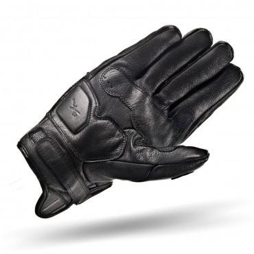 SHIMA CALIBER BLACK Motorcycle Vintage Gloves