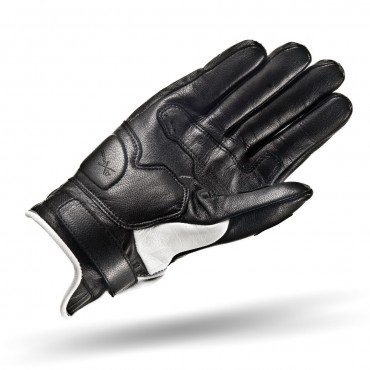SHIMA CALIBER WHITE Motorcycle Vintage Gloves