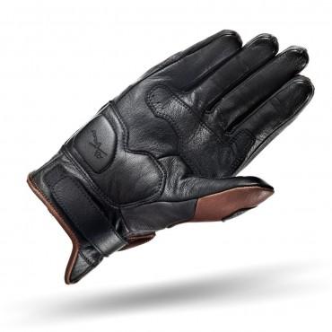 SHIMA CALIBER BROWN Motorcycle Vintage Gloves