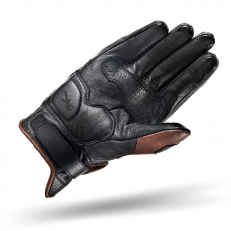 SHIMA CALIBER BROWN Motorcycle Vintage Gloves