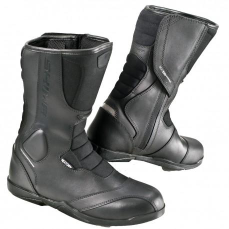 Shima Strada Men Black Motorcycle Classic Boots Bestseller